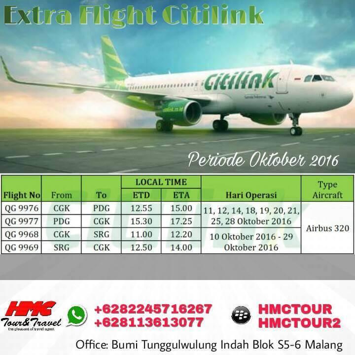 Extra Flight dari Citilink
