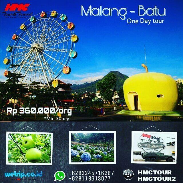 Paket Wisata Malang 1H
