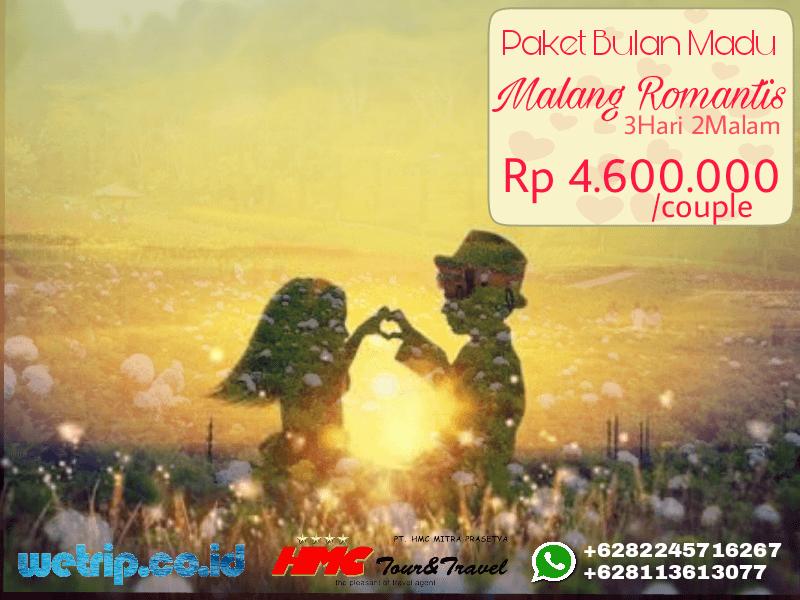 Paket Bulan Madu Romantis Malang 3 Hari 2 Malam
